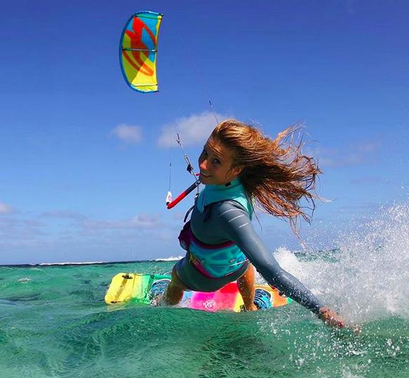 Marie Switala kitesurfeuse compte instagram de rideuses à suivre