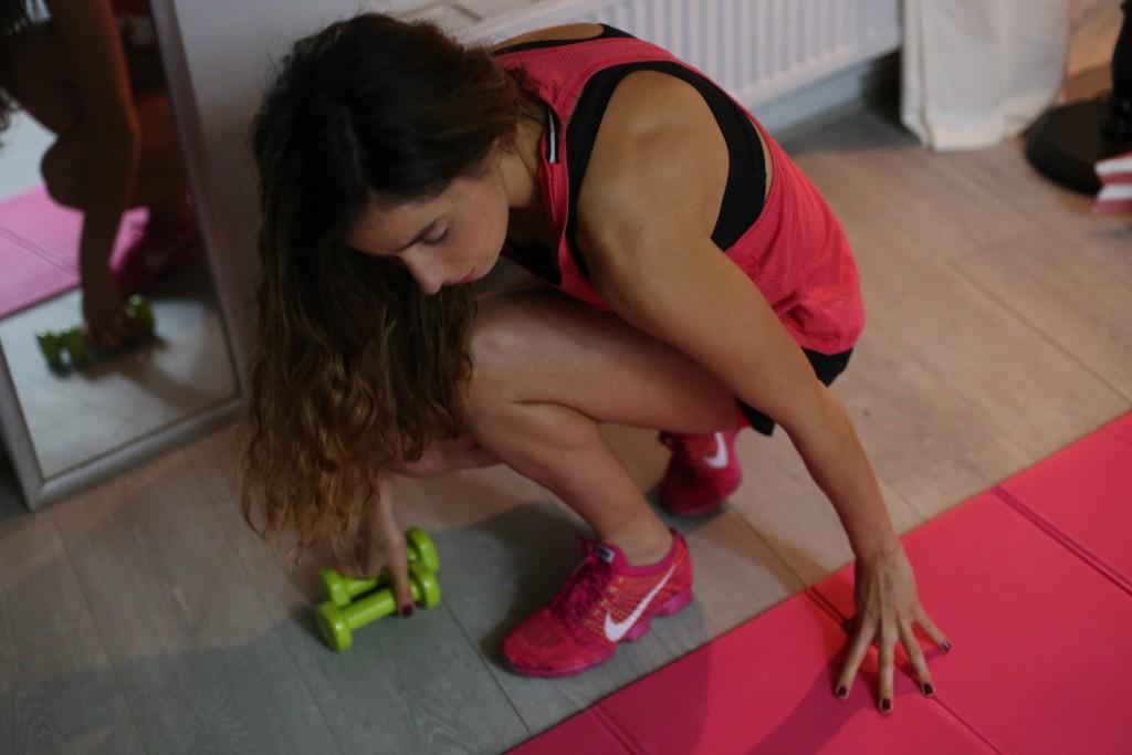 Application de sport gratuite Home training santamila