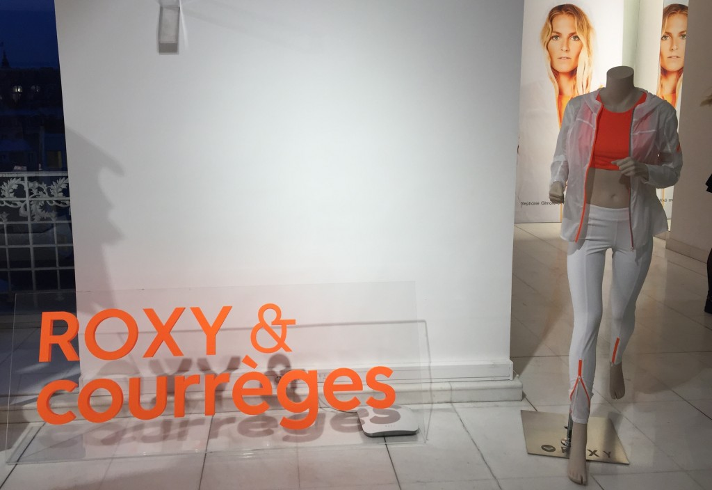 running collection roxy x courreges ete 2016