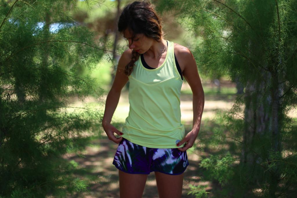tenue de sport pour l'été soldes Roxy running
