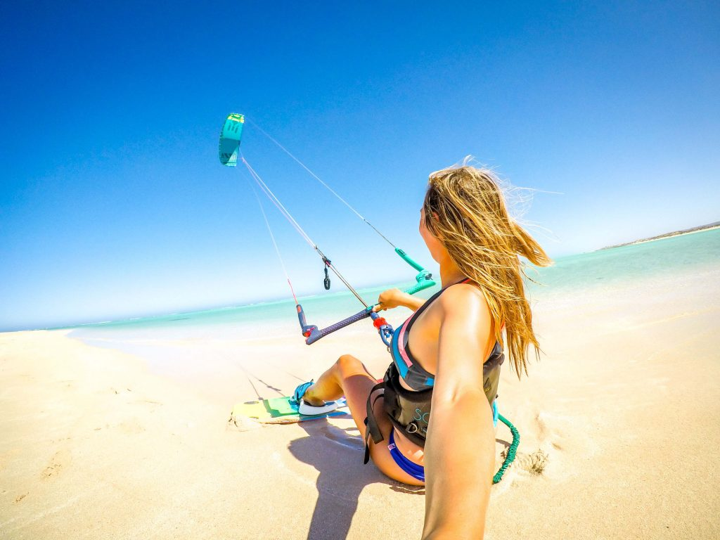 Isabelle Fabre Kitesurfeuse