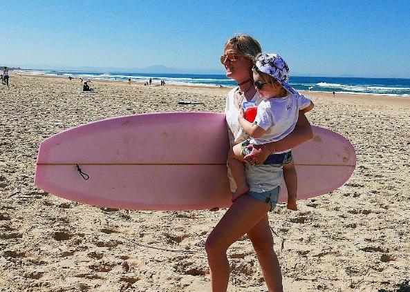 GoldieBlondie blog et instagram feminin sur le surf et kitesurf