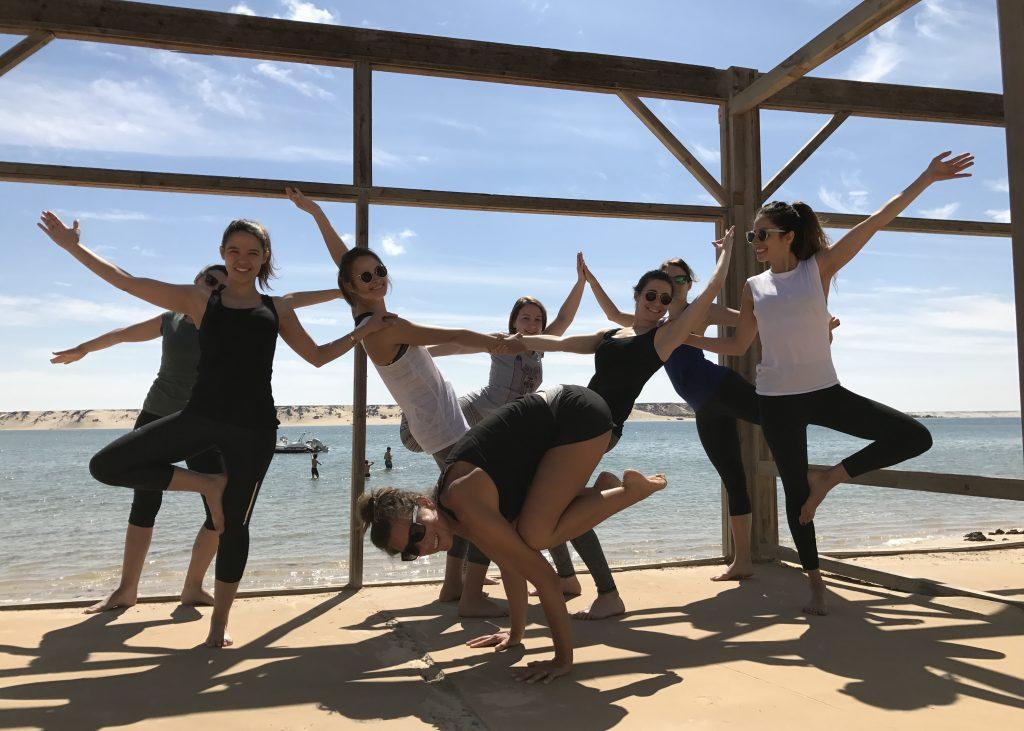 Stephie professeur de yoga a Lille kitesurf 14