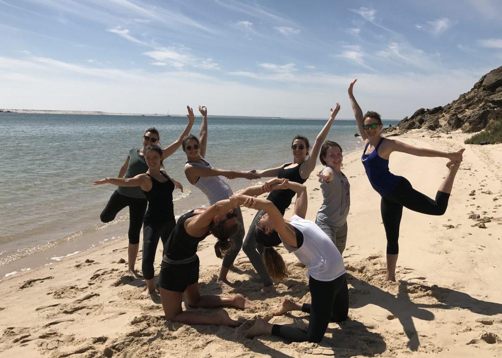 Stephie professeur de yoga a Lille kitesurf 17