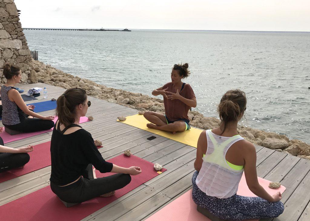 Stephie professeur de yoga a Lille kitesurf 16