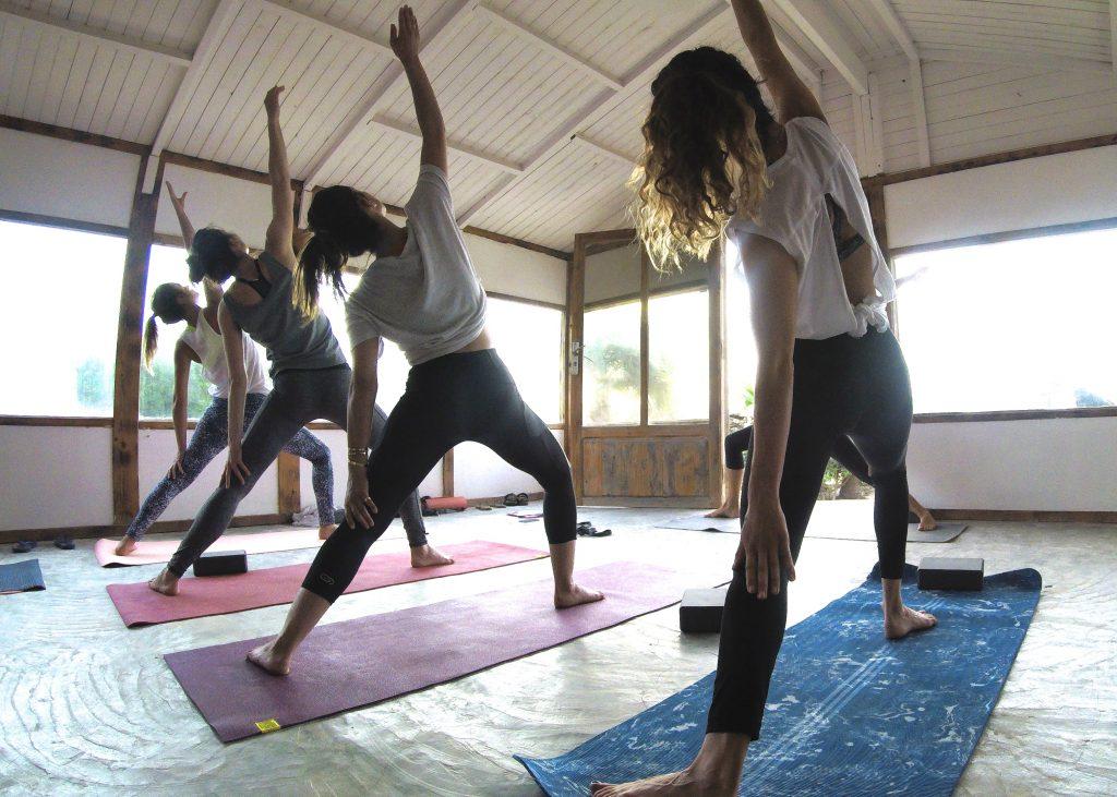 routine sportive etre en forme ete yoga