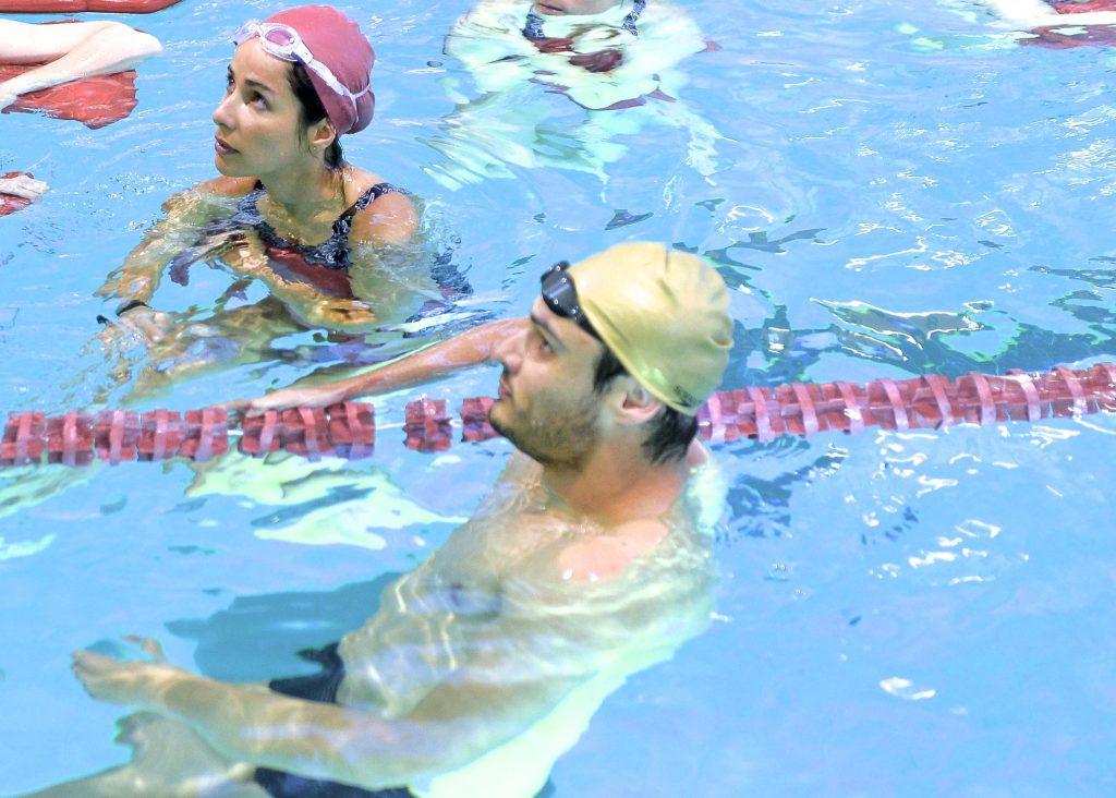 routine sportive etre en forme natation