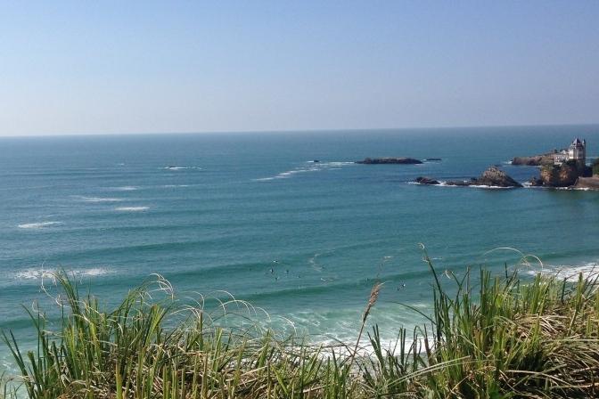vacances en France pour le surf et le kitesurf biarritz