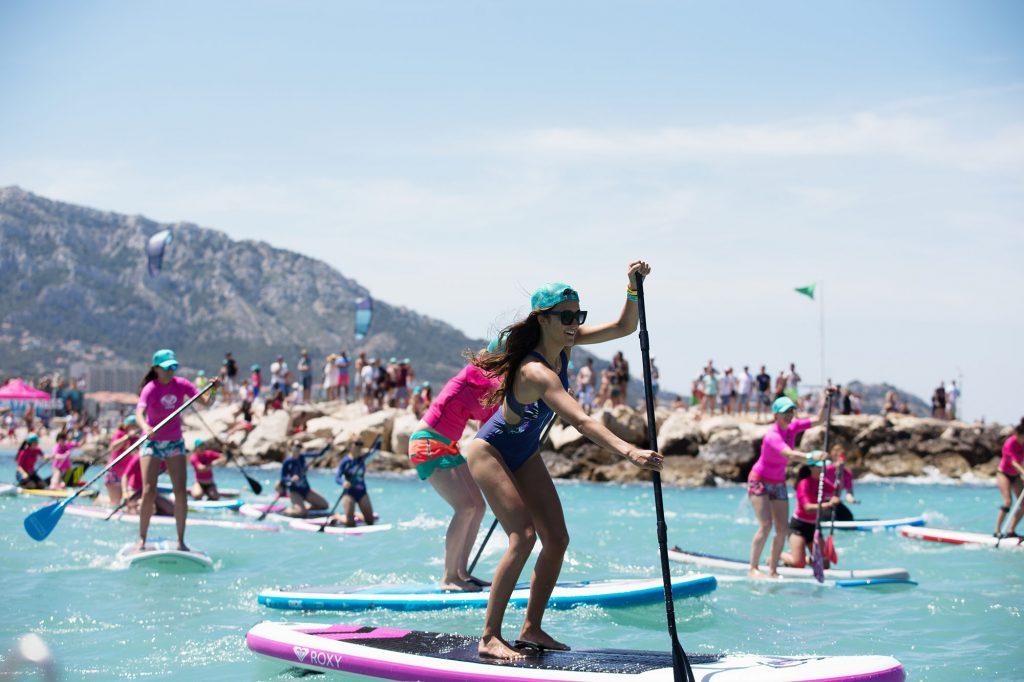 RoxyFitness Tour Marseille paddle