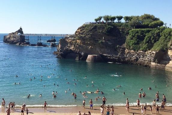 vacances en France pour le surf et le kitesurf biarritz 2