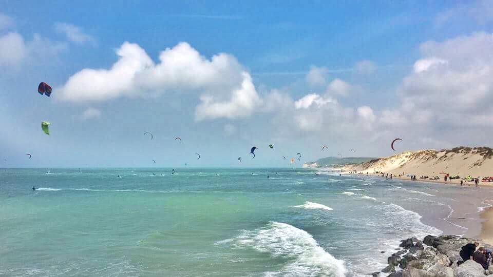 vacances en France pour le surf et le kitesurf plage wissant 8