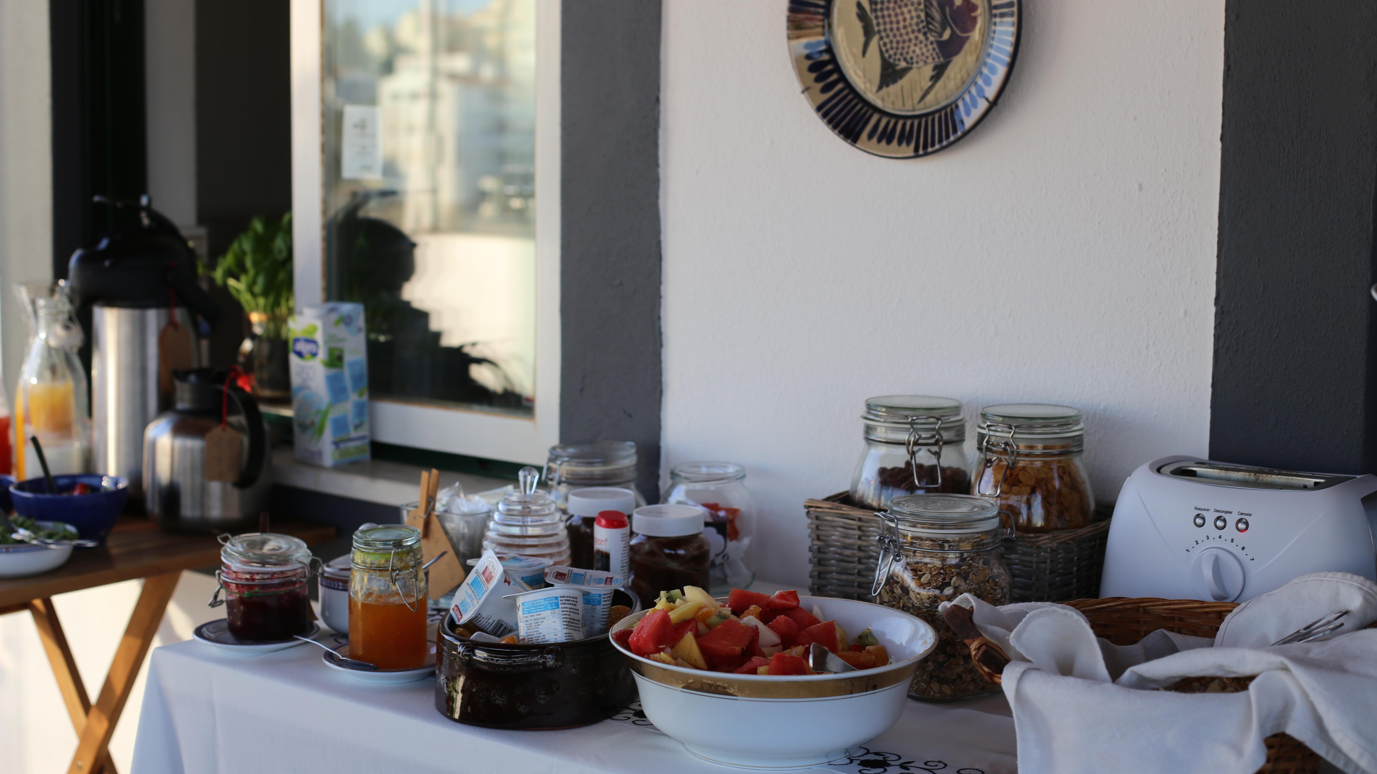 Las 3 Marias Guest House petit dejeuner Week-end surf en Algarve couple