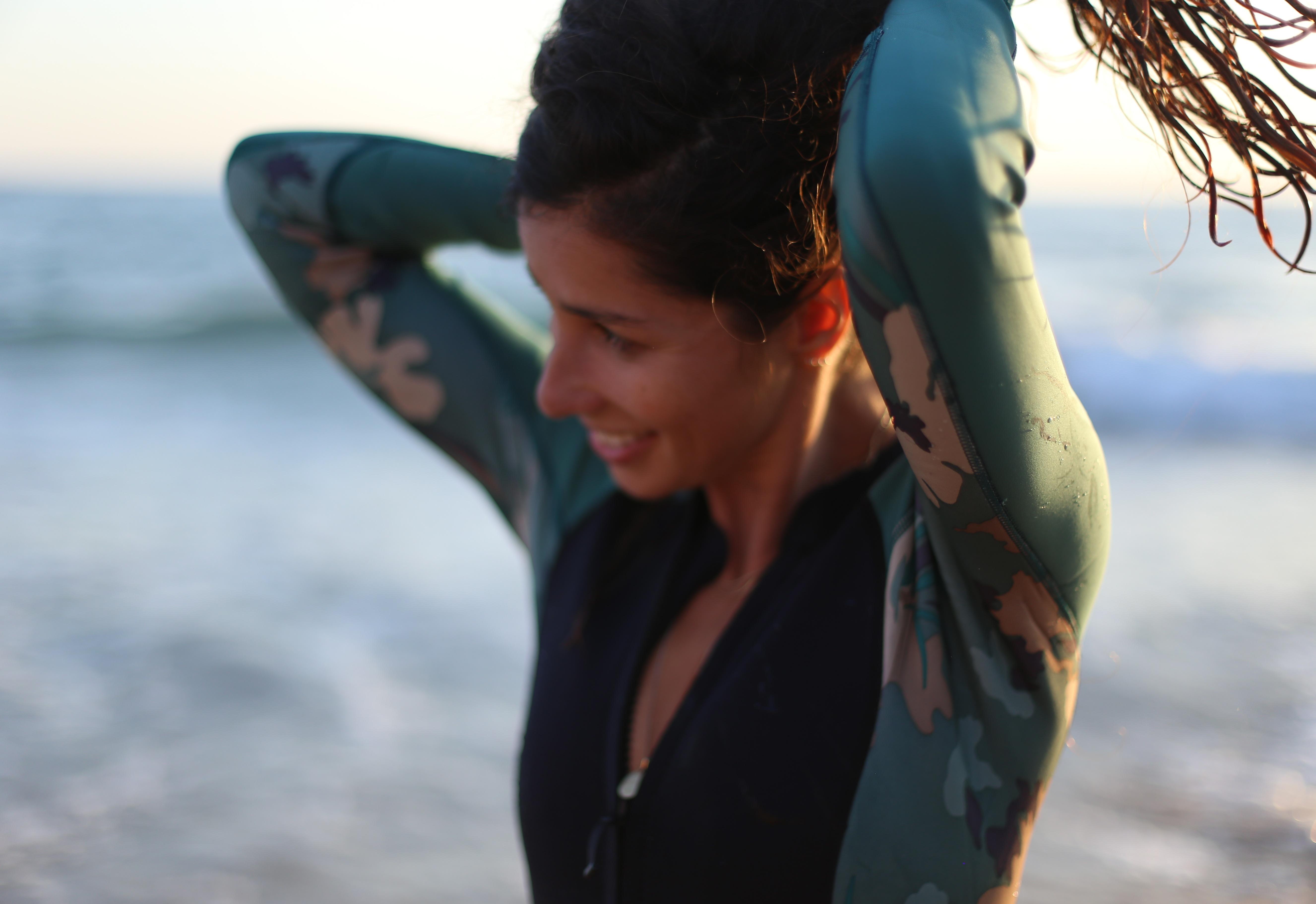 combinaison de surf sans néoprène femme patagonia surf kitesurf wakeboard