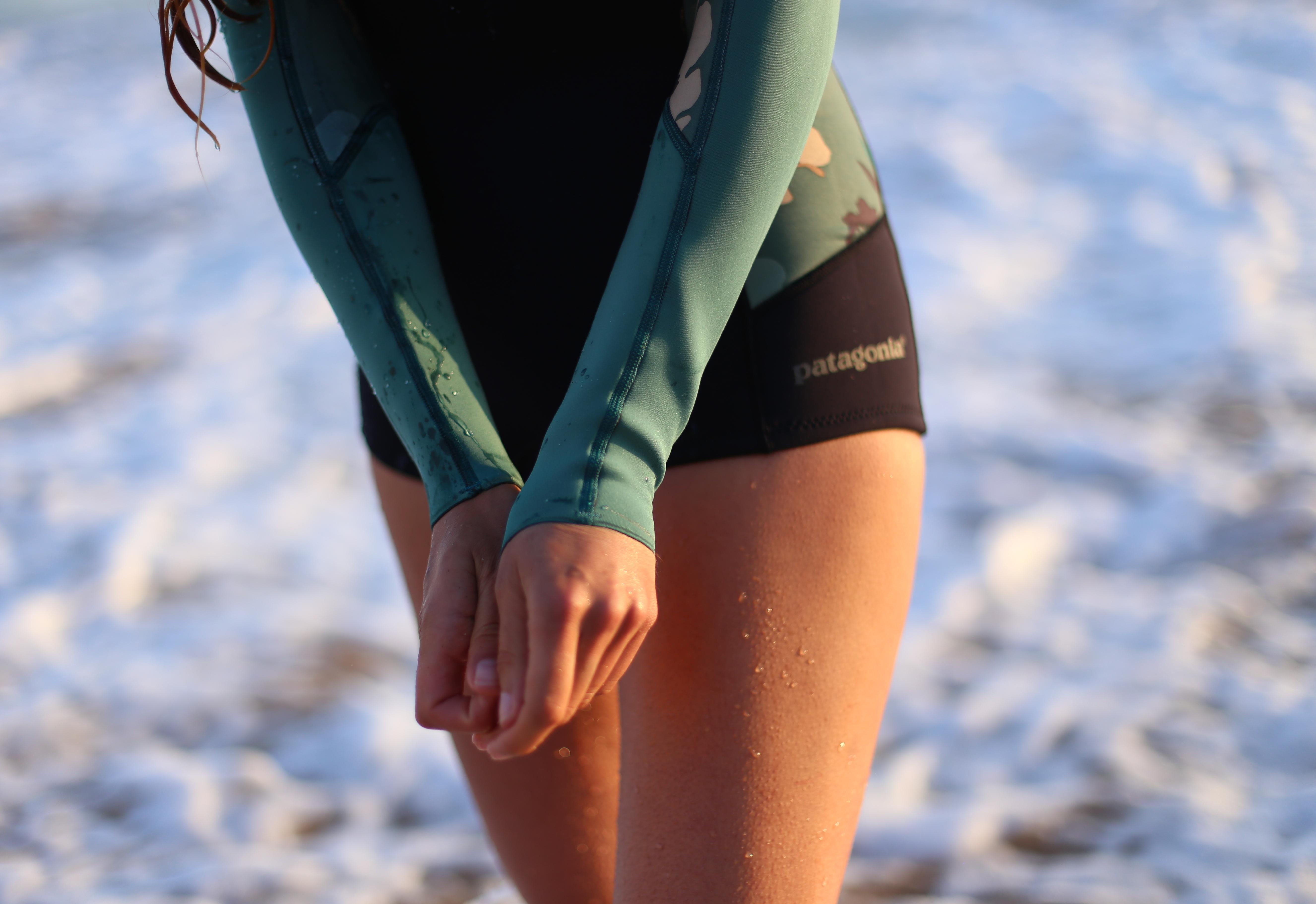 combinaisons pour le surf sans néoprène patagonia 11