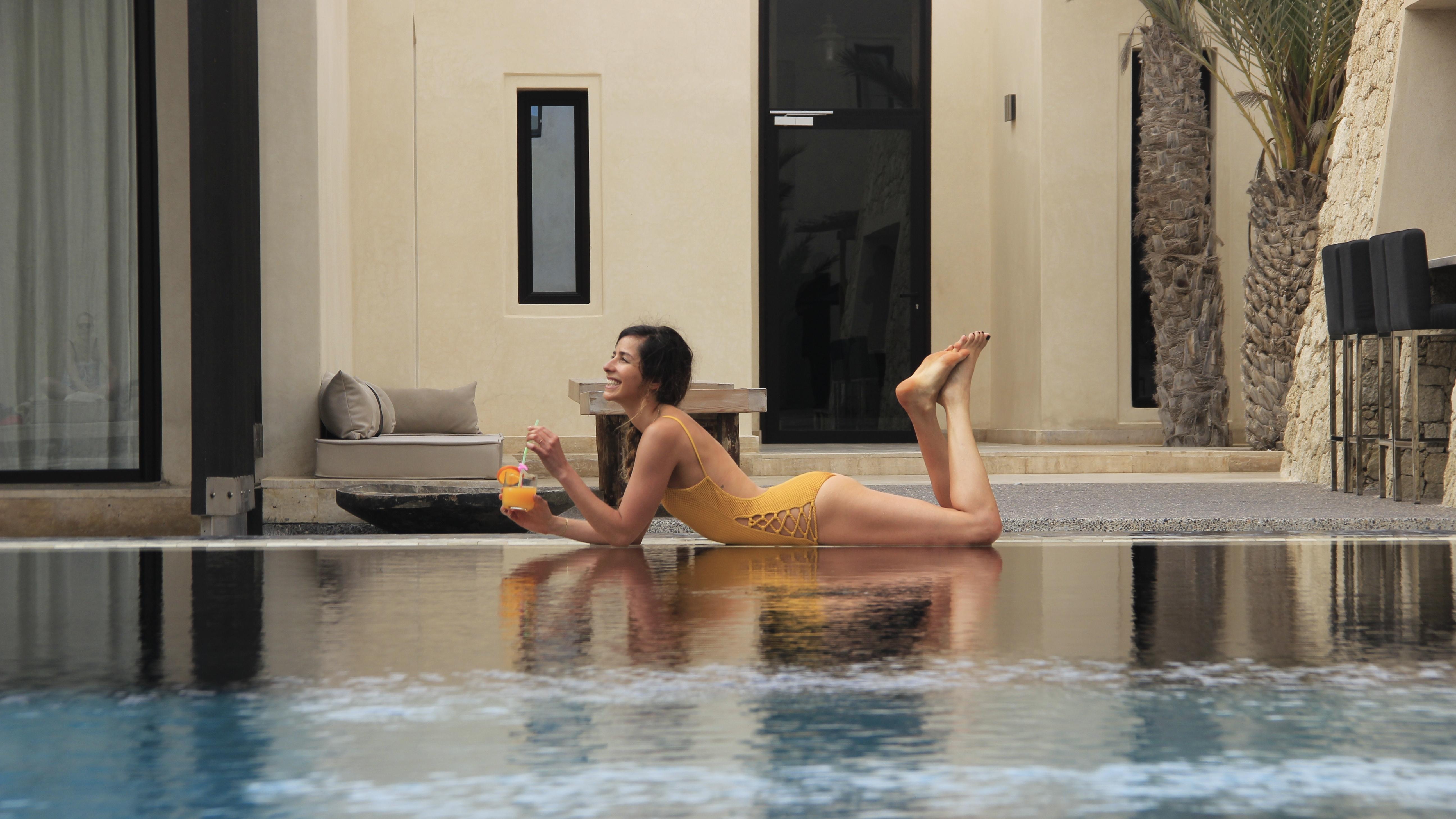 kitesurf et yoga Dakhla voyage sportif entre filles 3