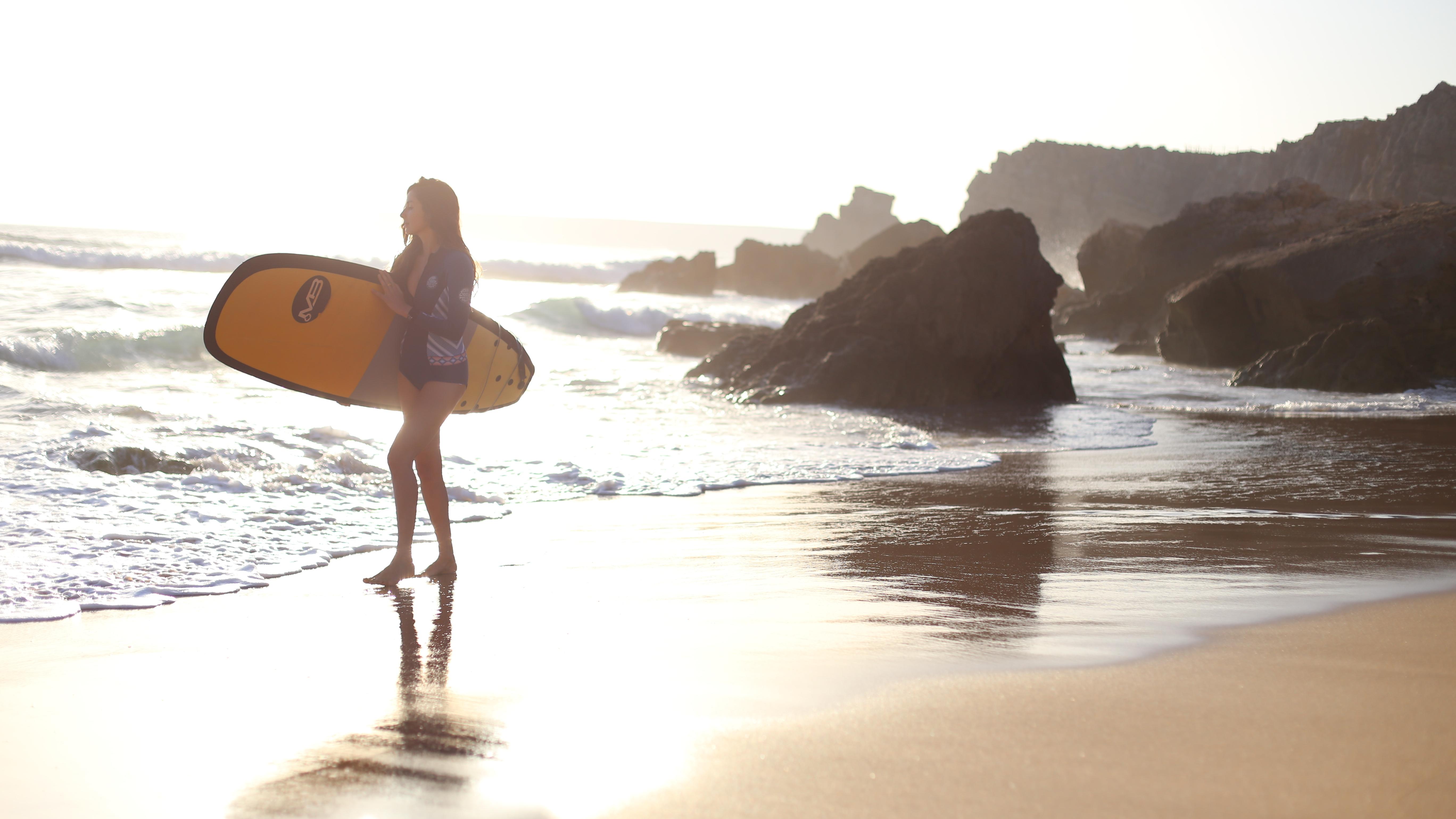 praia do tonnel surf Week-end surf en Algarve couple