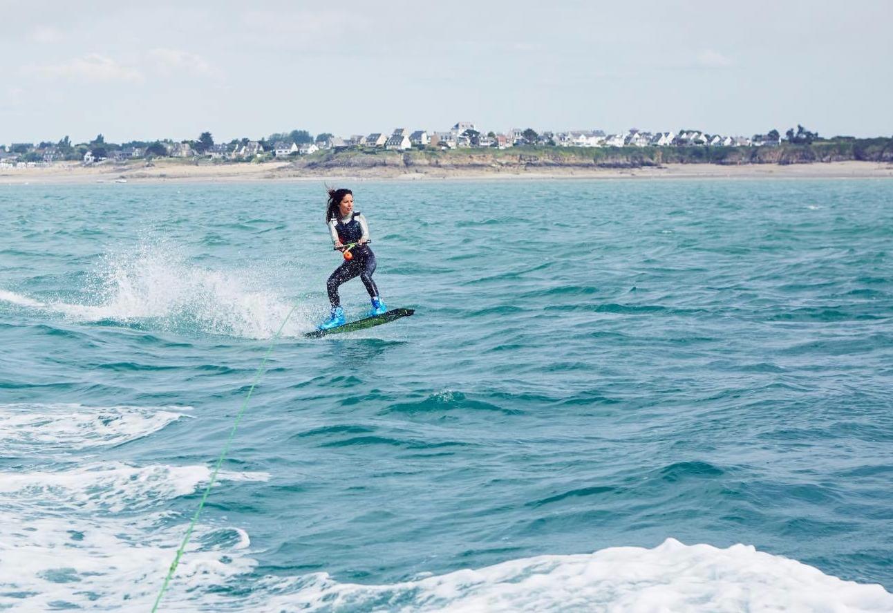 continuer à faire du sport en vacances wakeboard