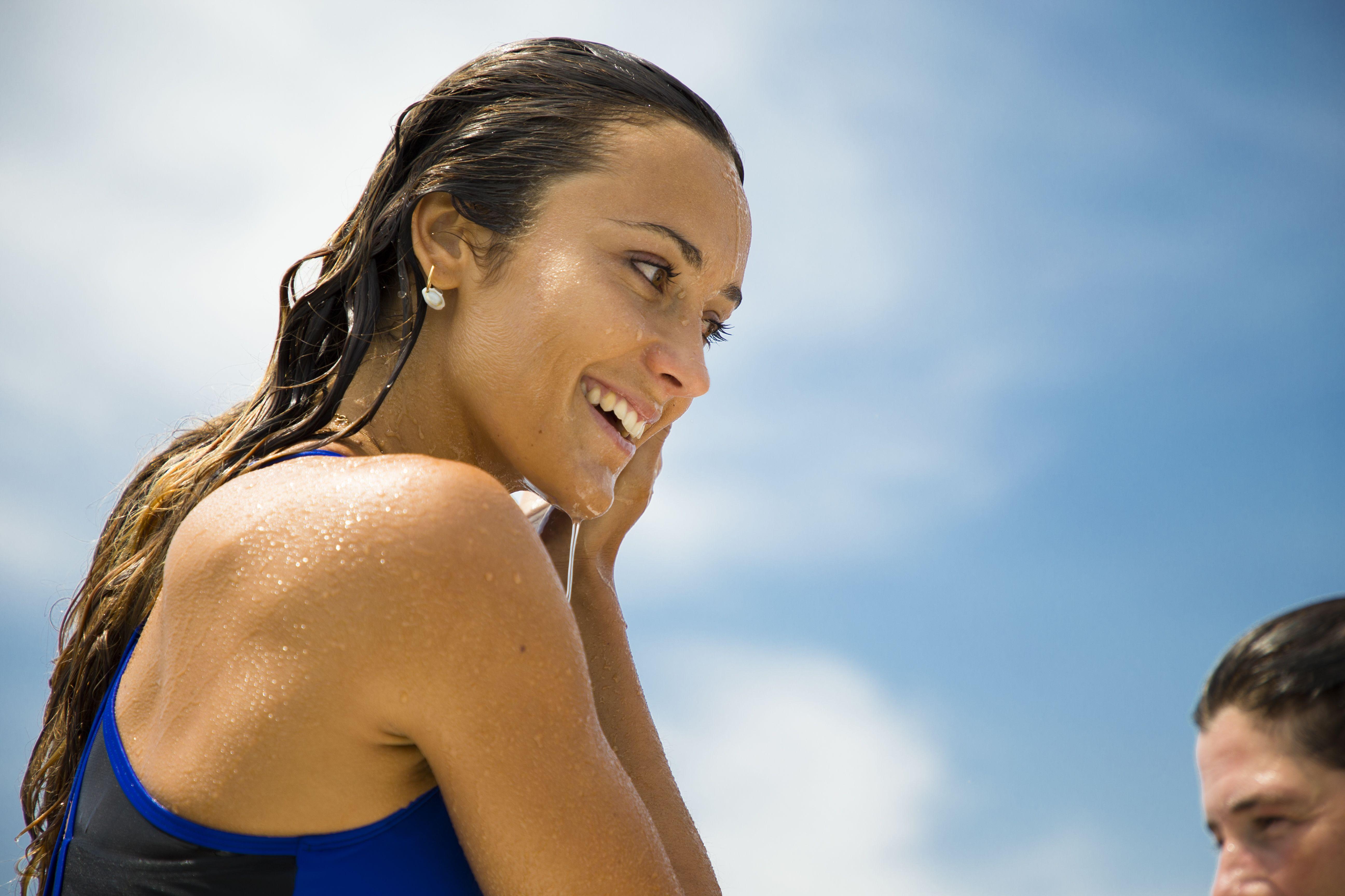 rencontre avec la surfeuse Justine Mauvin Roxy