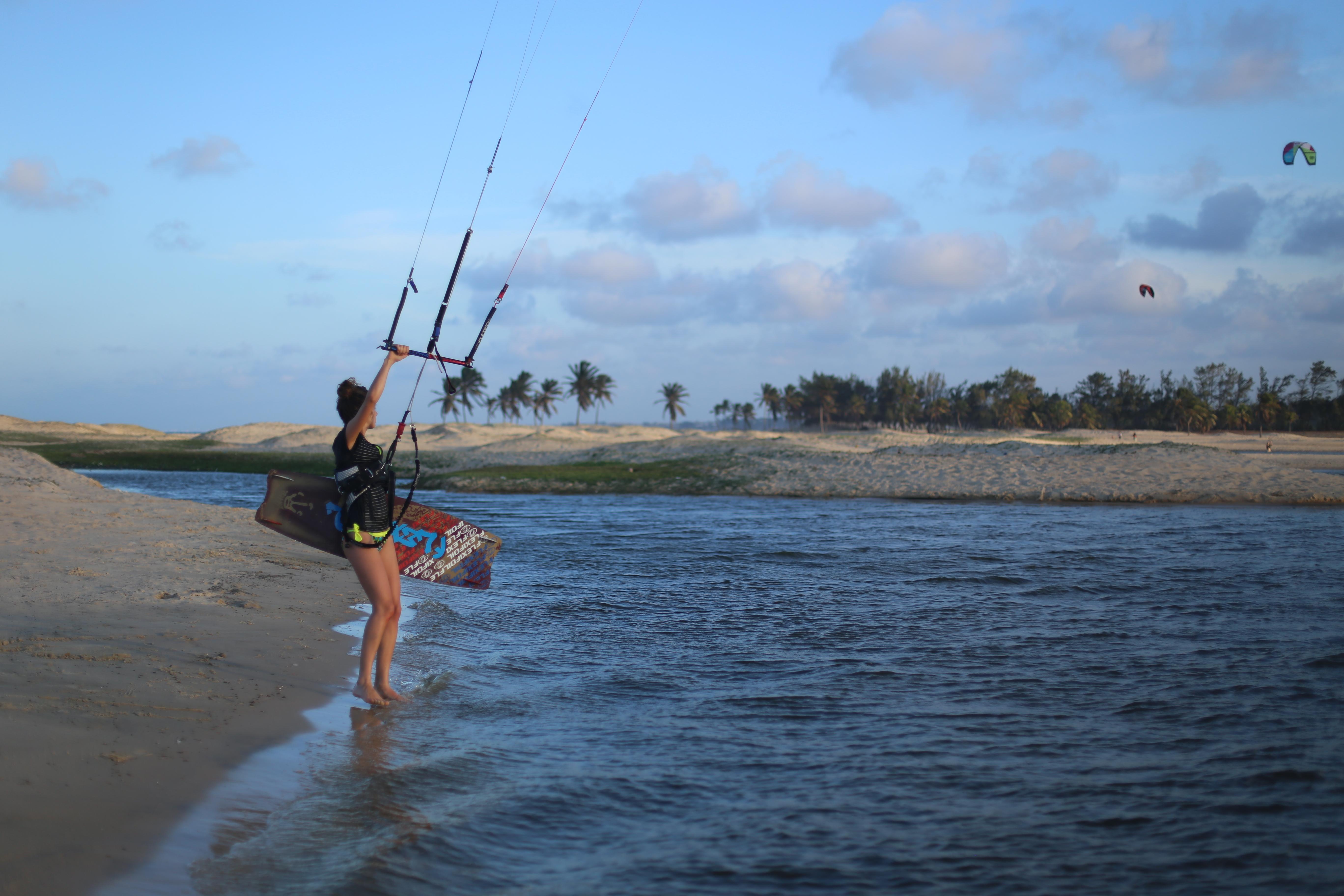 kitesurf trip cumbuco