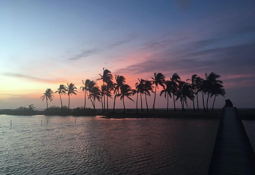 sandrine conseils et destinations kitesurf travelnkite kitesurf_srilanka_kalpitiya_KSL-sunset