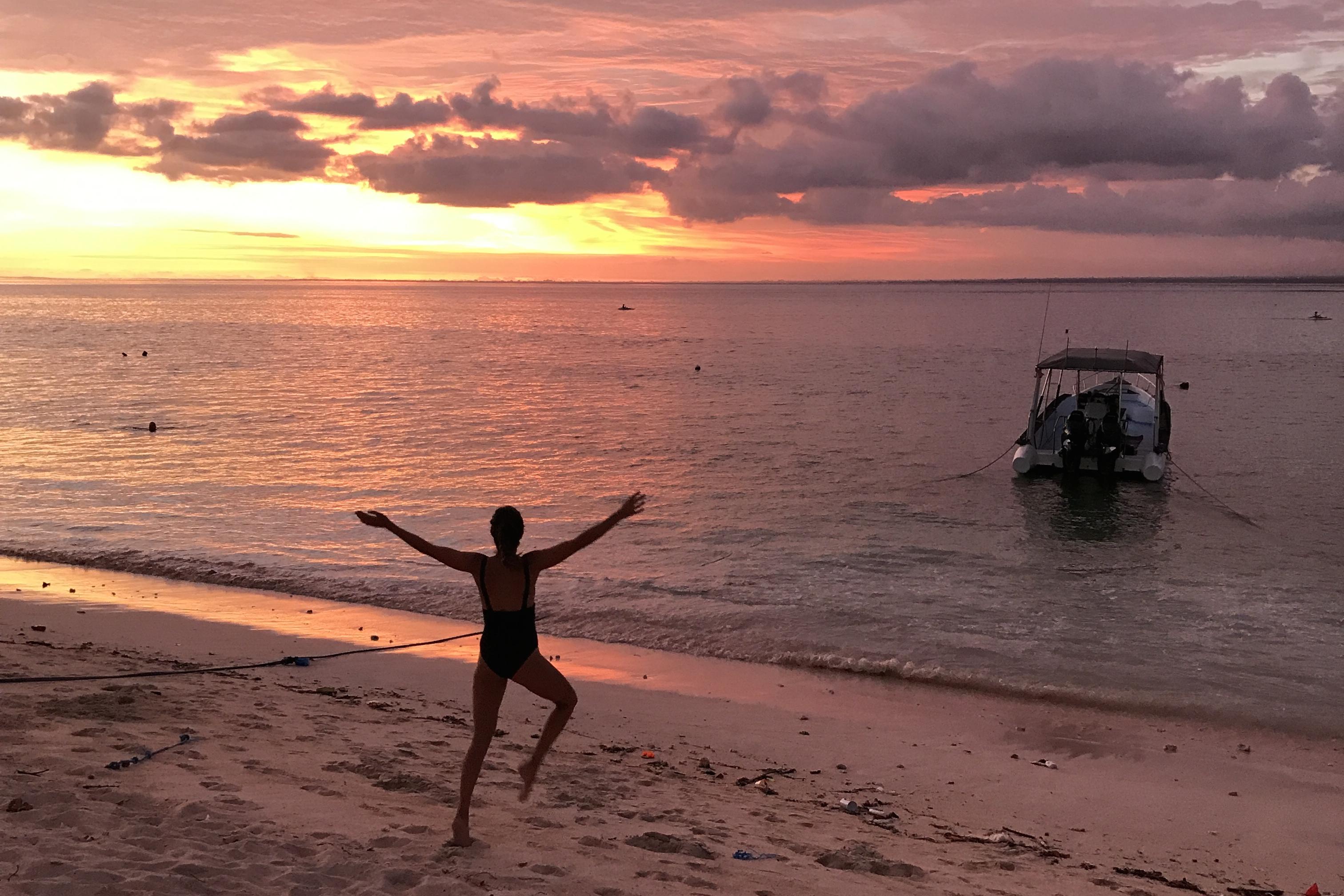 Voyage Nusa Lembongan ile paradisiaque Bali Coucher de Soleil