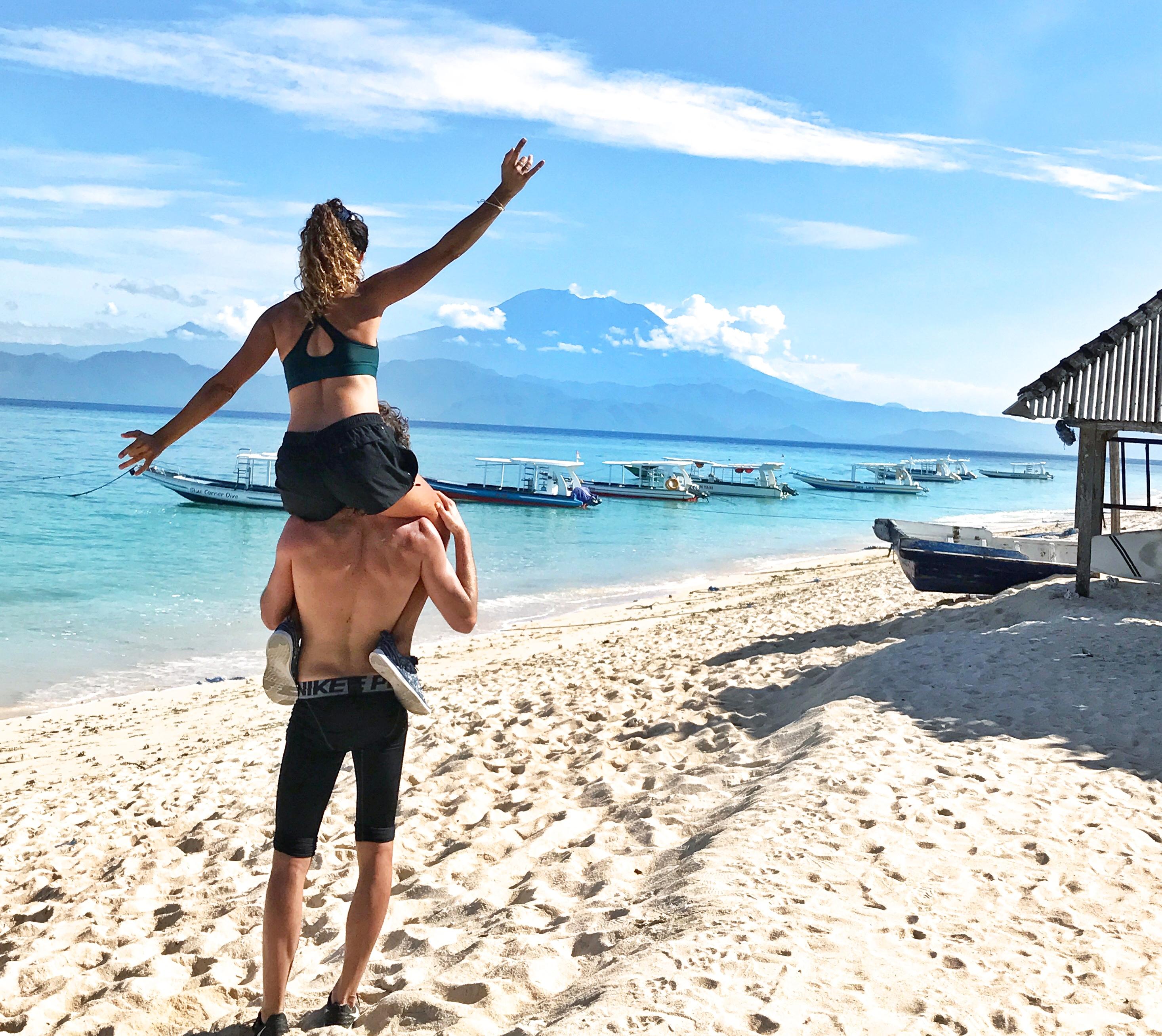 Voyage Nusa Lembongan ile paradisiaque Bali Run plage