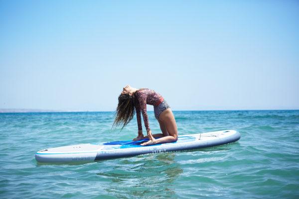 SUP Yoga SantaMila tarifa van roadtrip malaga break 3
