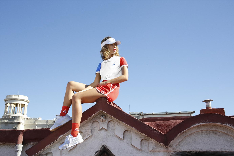 LOOK SPORTIF le coq sportif tenue de sport feminin