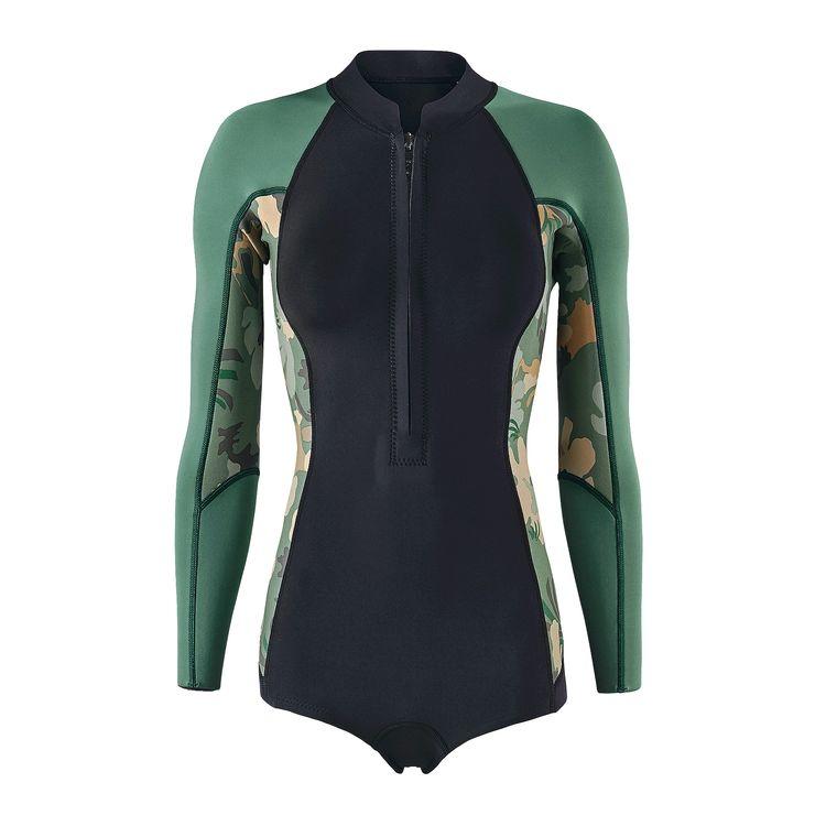 taille 40 a4a01 25b70 combinaison surf ete femme patagonia sans neoprene - Santa Mila