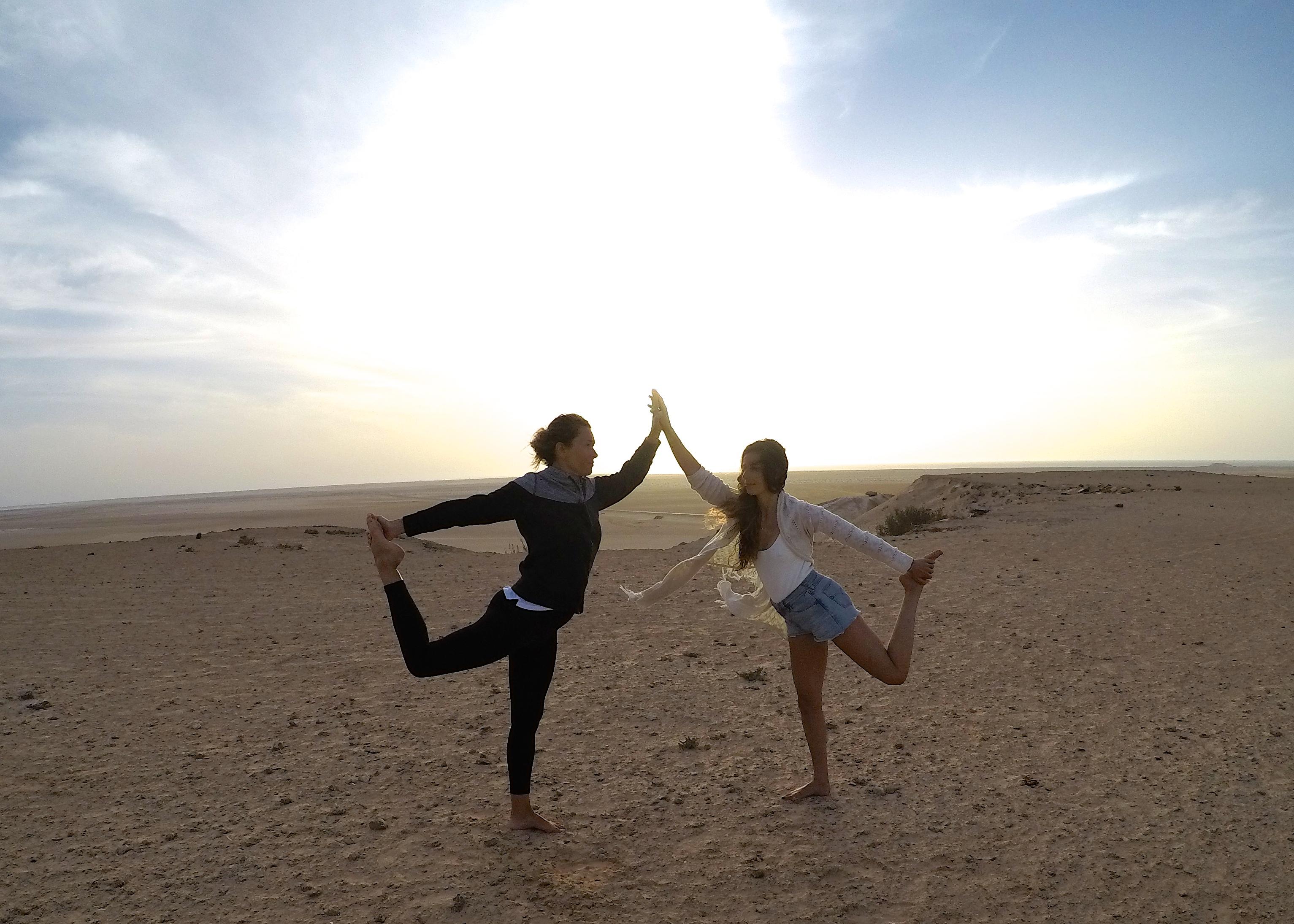 Stephie professeur de yoga a Lille kitesurf