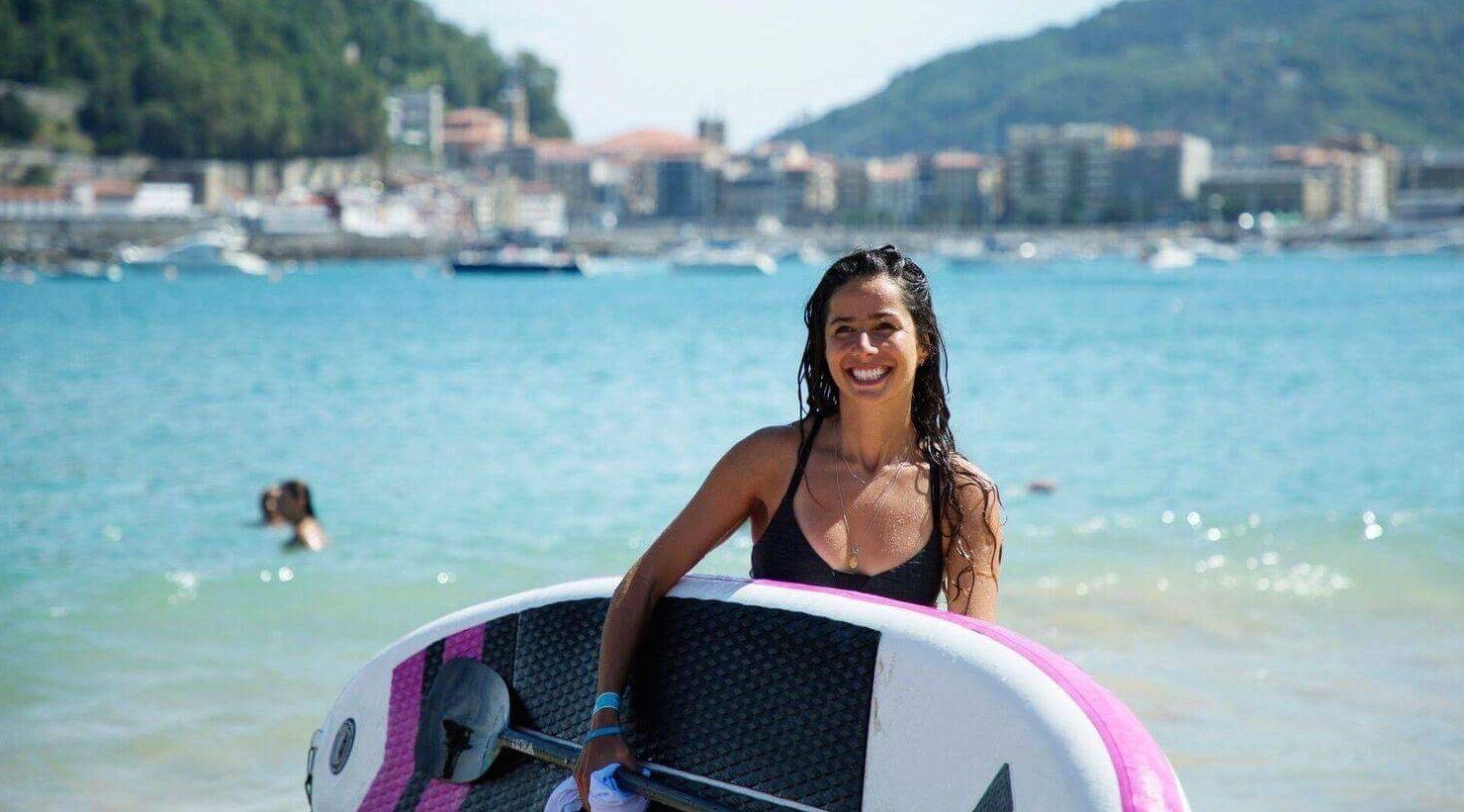 continuer à faire du sport en vacances paddle