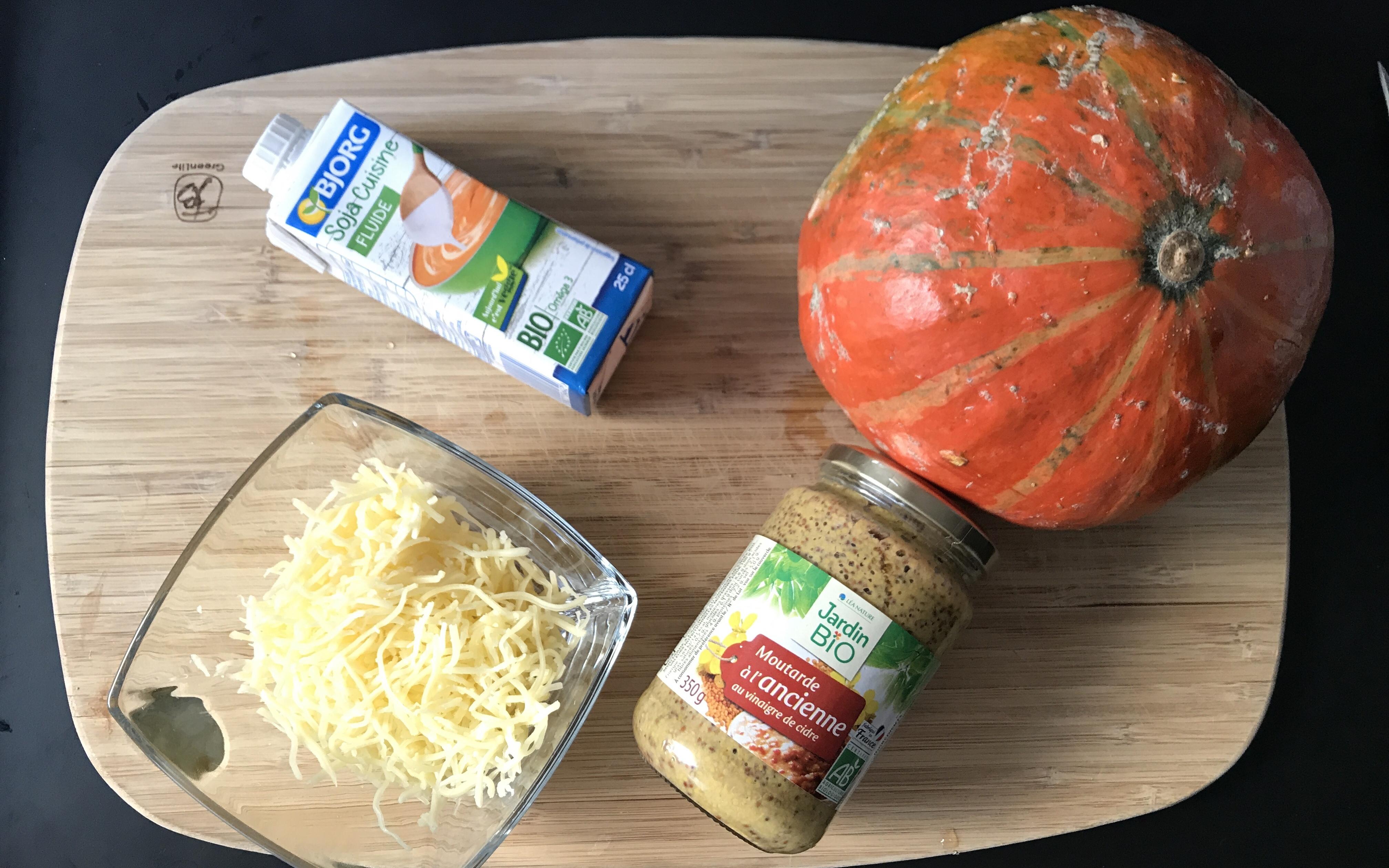 gratin de potimarron recette automne saine et gourmande