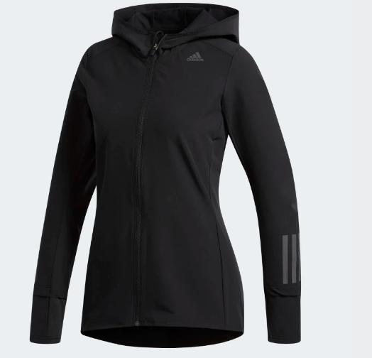 Veste femme running hiver Adidas Response Santa Mila