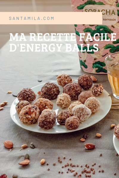 recette facile healthy energy balls