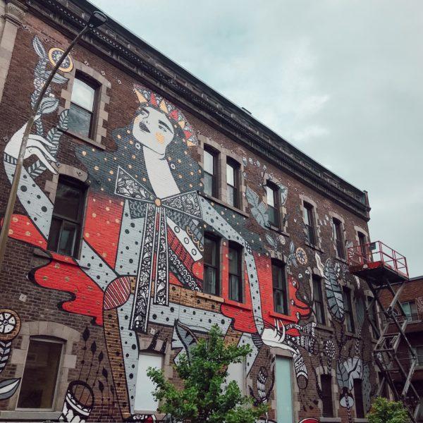 Festival Mural Voyage bien-être à Montréal Santamila