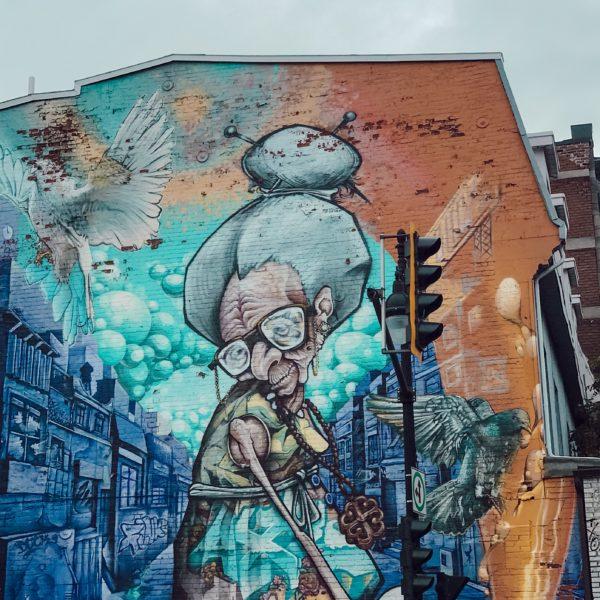 FEstival Mural Voyage bien-être à Montréal