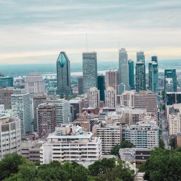 courir au Mont Royal à Montréal