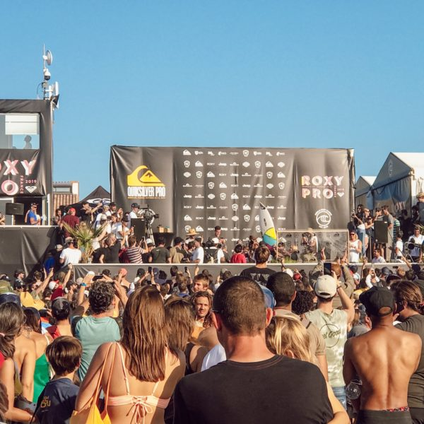 Quiksilver pro Evenement Surf Hossegor