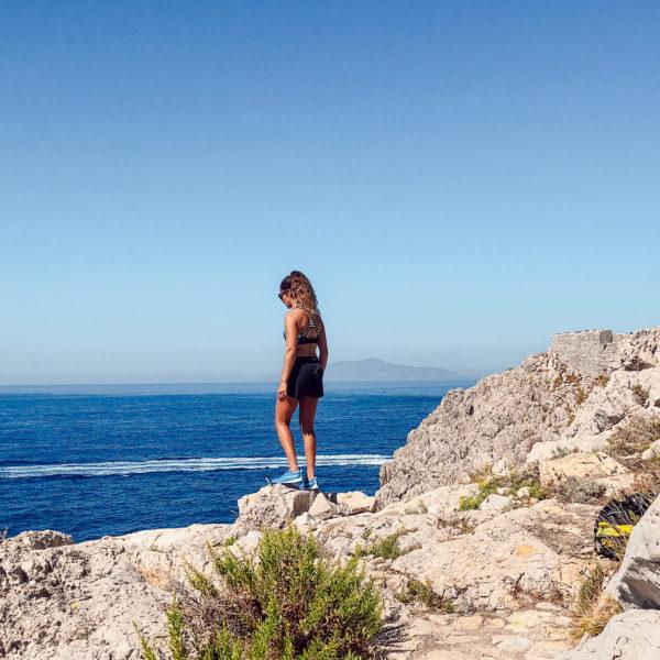 Randonnée Sentiero di Fortini week-end sportif à Capri