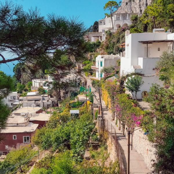 Randonnée El sentiero del passetiello Week-end sportif à Capri