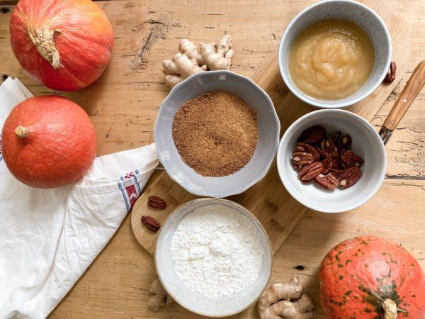 recette pumpkin cake vegan santamila manongreenbook