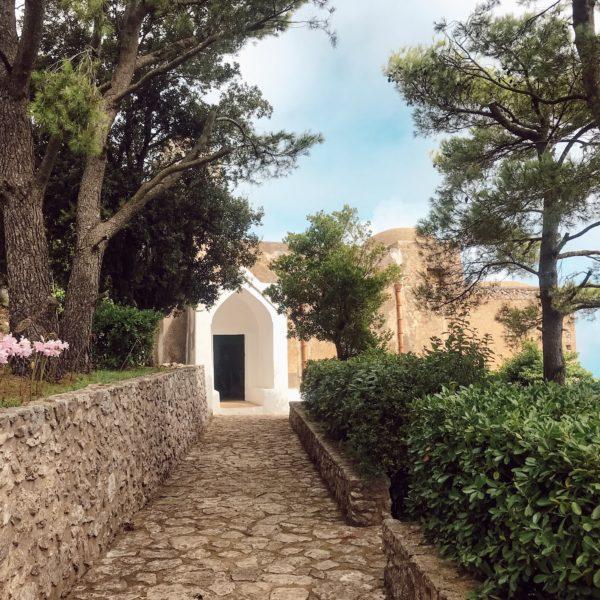 la chapelle Santa Maria a Cetrella Week-end sportif à Capri