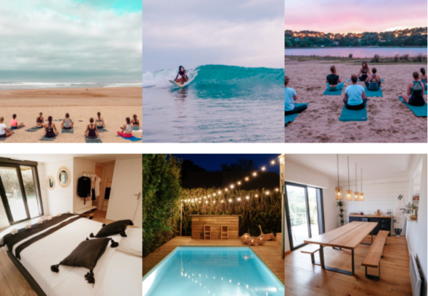 Ocean Therapy Sejour Yoga Surf France Sud-Ouest