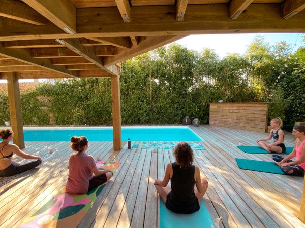 cours de yoga au Pays-Basques
