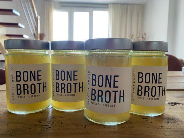 bouillon d'or collagène bone broth atelier nubio